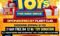 Fleet Djs 8th Annual Toys For Kids Drive