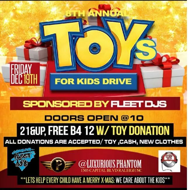 Fleet Djs 8th Annual Toys For Kids Drive